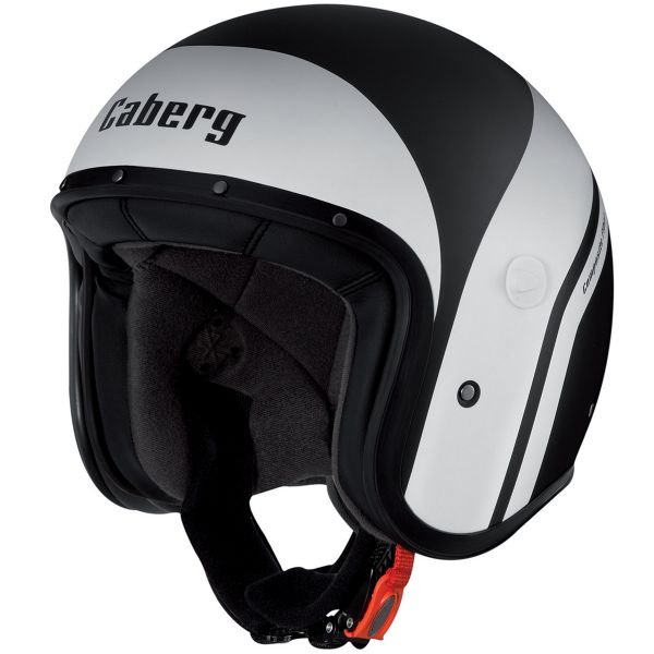 Casque Jet Caberg Freeride Mistral Matt Black White