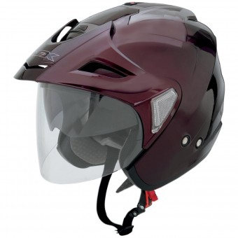 Casque Jet AFX FX-50 Wine Red