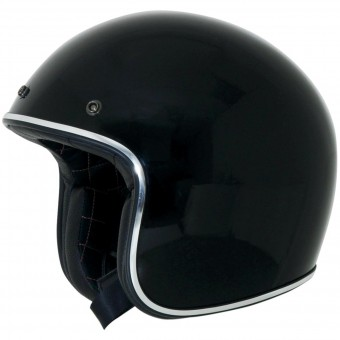 Casque Jet AFX FX-76 Vintage Black Chrome