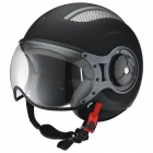 Casque Jet IXS HX 86 Matt Black