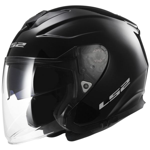 Casque Jet LS2 Infinity Black OF521