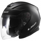 Casque Jet LS2 Infinity Matt Black OF521