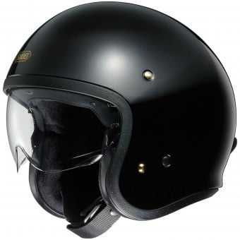 Casque Jet Shoei J.O Black