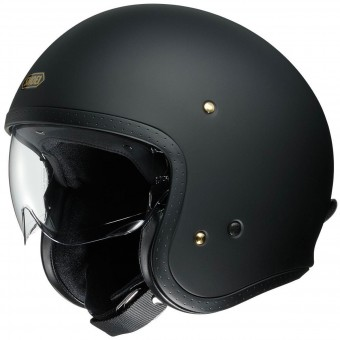 Casque Jet Shoei J.O Matt Black