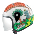 Casque moto AGV Junior Open Top Valentino Hous