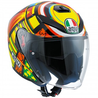 Casque Jet AGV K-5 Jet Top Elements