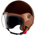 Casque Jet Laura Smith Trendy Vision Tabac