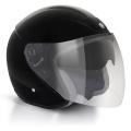 Casque moto GPA Lazio Noir Brillant