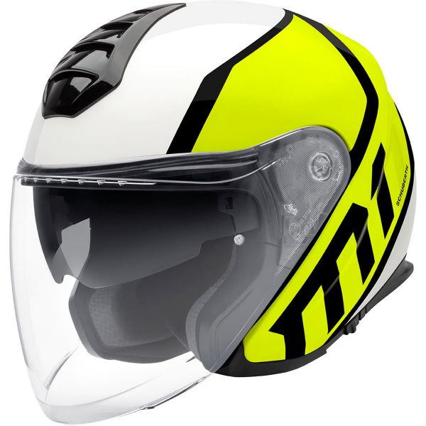 Casque Jet Schuberth M1 Flux Yellow