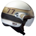 Casque moto Roof Manx Blanc Nacre