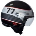 Casque moto Roof Manx Noir