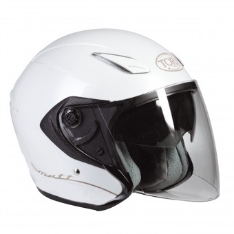 Casque Jet Torx Matt 2 Pearl White