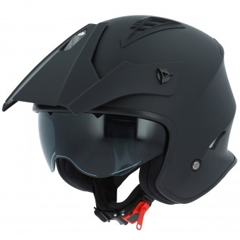 Casque Jet Astone Minicross Matt Black