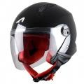 Casque moto Astone Minijet Black
