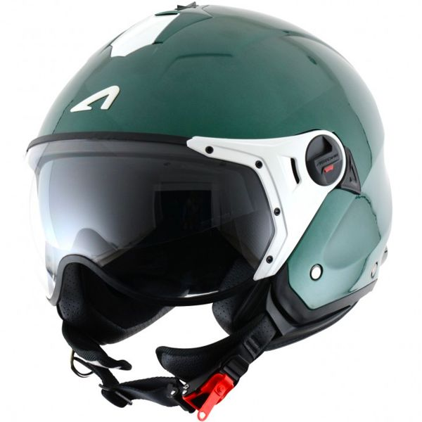 Casque Jet Astone Minijet Sport Metallic Green