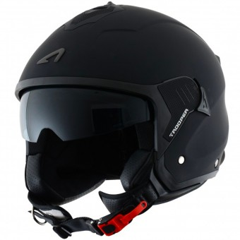Casque Jet Astone Minijet Trooper Matt Black