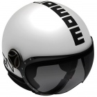 Casque Jet Momo Design Fighter II Blanc Quartz Noir 9