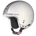 Casque moto Nolan N20 Naked Caribe Plus White 2