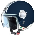Casque moto Nolan N20 Traffic Caribe Plus Bleu M