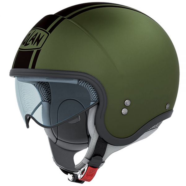 Casque Jet Nolan N21 Caribe Flat Military Green 17