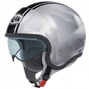 Casque Jet Nolan N21 Caribe Scratched Chrome 24