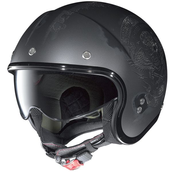 Casque Jet Nolan N21 Speed Junkies Flat Asphalt 33