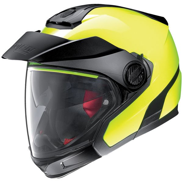Casque Transformable Nolan N40 5 GT Hi-Visibility N-Com Fluo Yellow