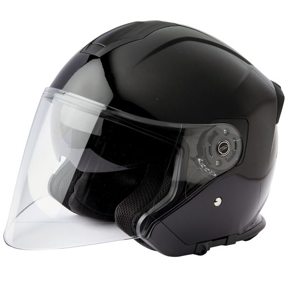 Casque Jet Stormer Neo Matt Black