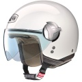 Casque moto Nolan N20 Traffic Classic Plus White