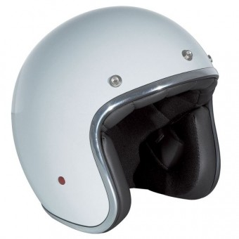 Casque Jet Stormer Pearl Blanc