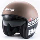 Casque Jet Blauer Pilot 1.1 Matt Brown Black