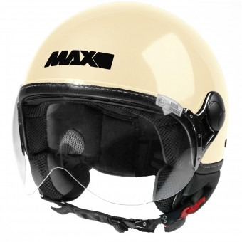 Casque Jet MAX Power Design Creme