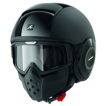 Casque Jet Shark Drak Dual Black