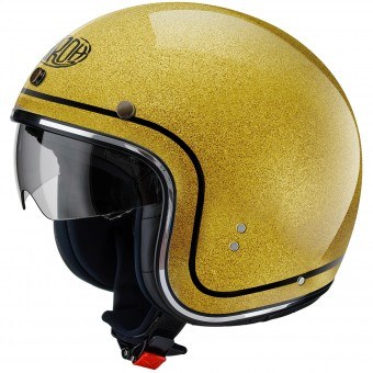 Casque Jet Airoh Riot Color Gold Glitter
