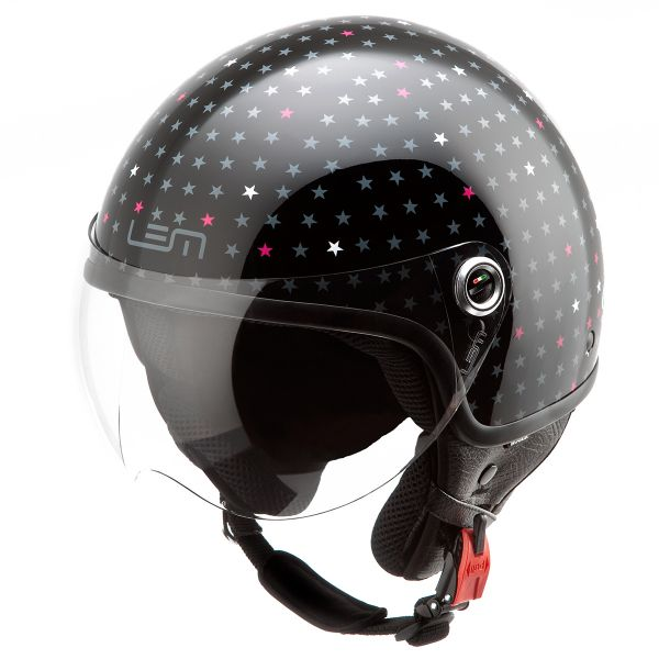 Casque Jet LEM Roger Dusty Black