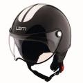 Casque moto LEM Roger Go Fast Black Silver