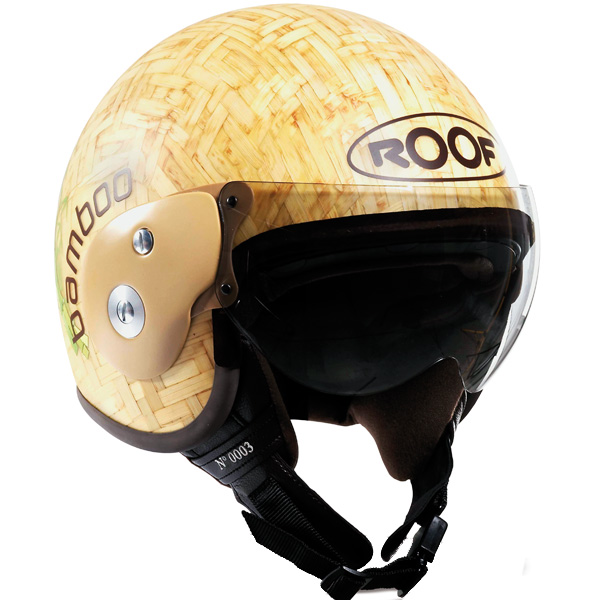 Casque Jet Roof Bamboo