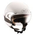 Casque moto Roof RO4 Fever Blanc Nacr