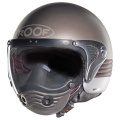 Casque moto Roof Sphair Duo Acier Mat