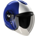 Casque moto Roof Rover Legend Bleu Blanc