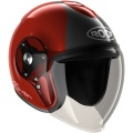 Casque moto Roof Rover Legend Rouge Gris