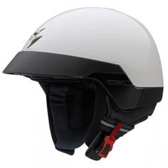 Best of casques moto  Scorpion EXO 100 Blanc