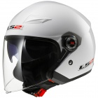Casque Jet LS2 Track White OF569