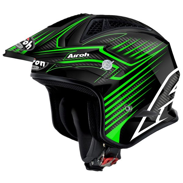 Casque Jet Airoh TRR Draft Green