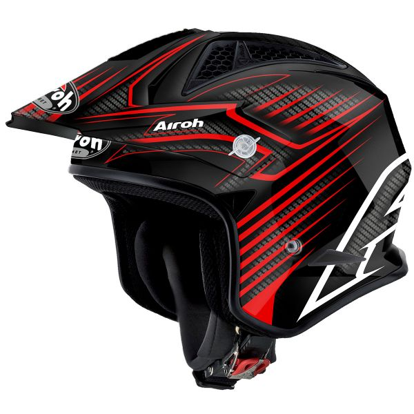 Casque Jet Airoh TRR Draft Red