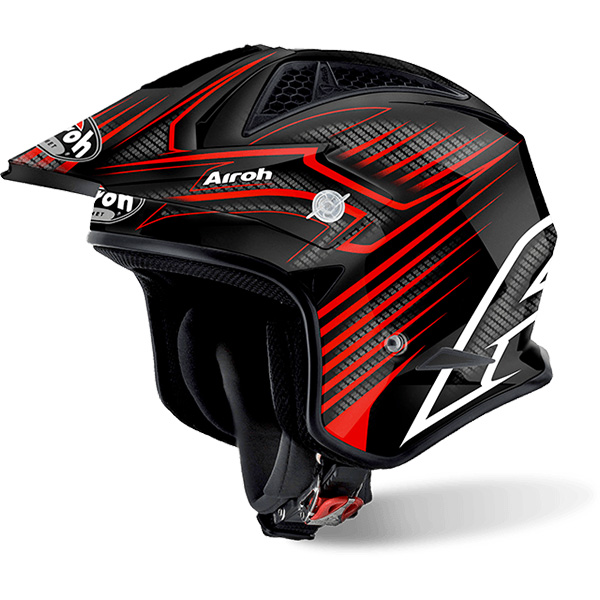 Casque Jet Airoh TRR S Draft Red