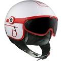 Casque moto GPA United Blanc Rouge