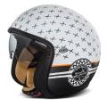 Casque moto Premier Vintage Blanc Mat SP8BM