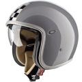 Casque moto Premier Vintage CK Gris