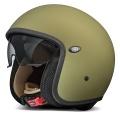 Casque moto Premier Vintage Military Vert Mat